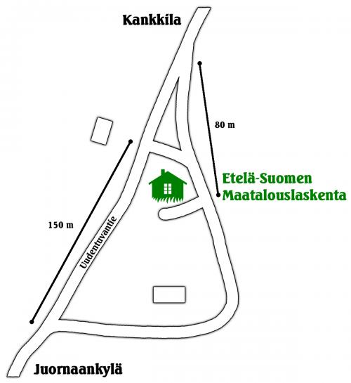 Etelä-Suomen Maatalouslaskenta tilitoimisto Myrskylässä kartta
